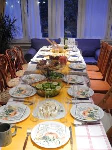 Thanksgiving dinner for friends
