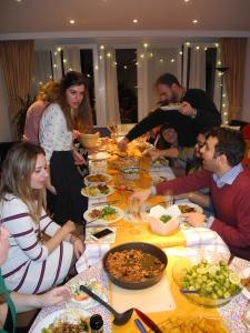 Thanks giving dinner for friends